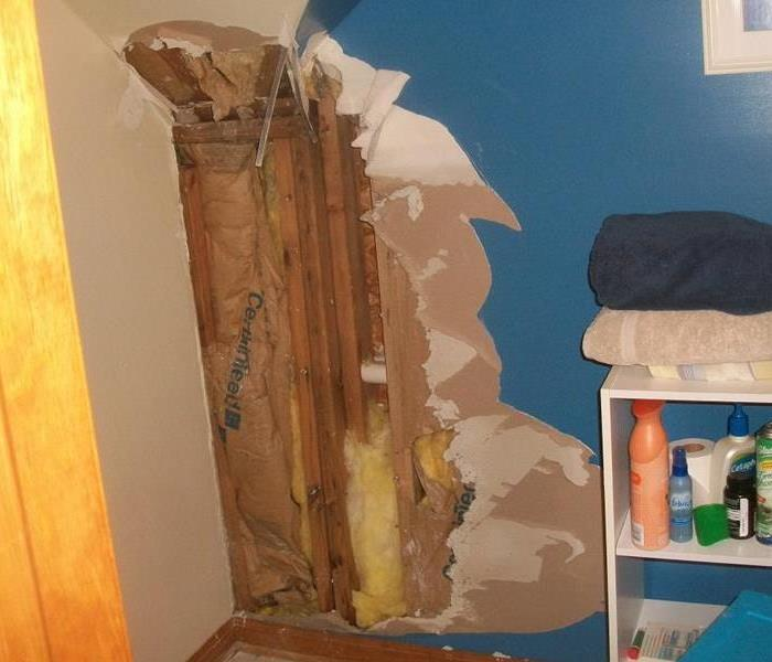 Storm Wreaks Havoc on Homes Walls